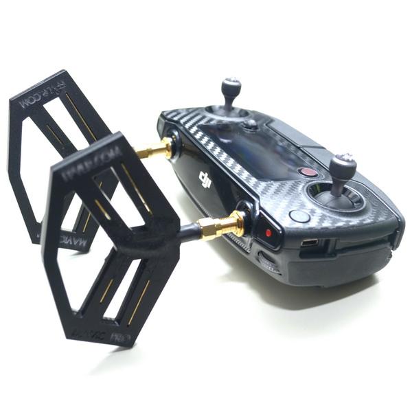 Усилитель антенны для пульта к квадрокоптеру mavic полный набор защитных наклеек для бпла mavik