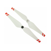 Комплект самозатягивающихся пропеллеров 9443 (белые с красными полосками)