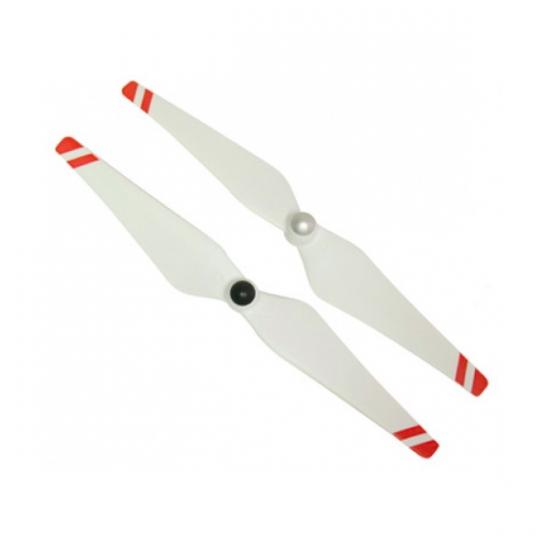 Набор пропеллеров 9450 белые с красными полосами для Phantom 2 / F450 / F550