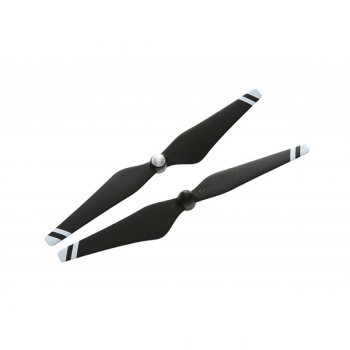 Набор пропеллеров 9450, черные с белыми полосами (пласт.хаб) для Phantom 3
