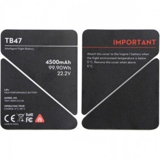 Изолирующие наклейки на аккумулятор TB47 для Inspire 1 (Part 50)