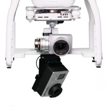 Подвес 360 GoPro Panorama head для DJI Phantom 3 including 16GB Micro SD Card