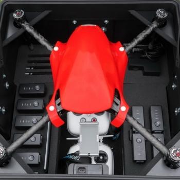 Герметичный водонепроницаемый кейс с интегрированной системой зарядки для Inspire 1 / Matrice 100