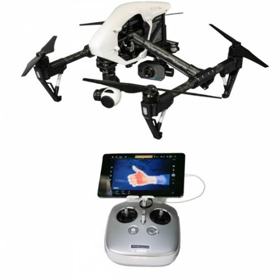 Комплект T05 базовый: DJI Inspire 1 и тепловизионная камера FLIR VUE