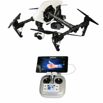 Комплект T07 профессиональный: DJI Inspire 1 и тепловизионная камера FLIR TAU2