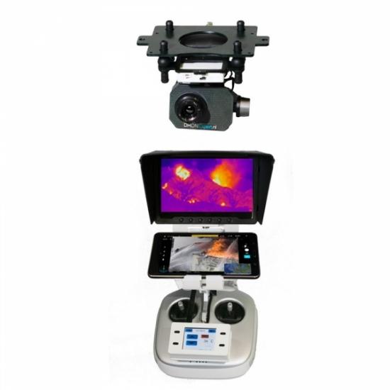 Комплект T12 профессиональный: тепловизионный подвес и камера FLIR TAU2 для DJI Matrice 100
