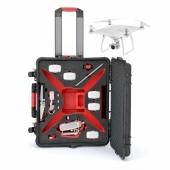 Водонепроницаемый кейс с колесами DRONExpert для квадрокоптера DJI Phantom 4