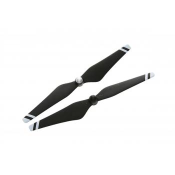 Набор пропеллеров 9443, черные с белыми полосами (пласт.хаб) для Phantom 3
