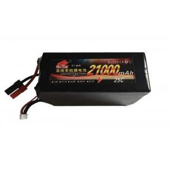 Аккумулятор Fire Bull Li-pol 22.2V 21000mAh, 25C, 6s2p, EC5