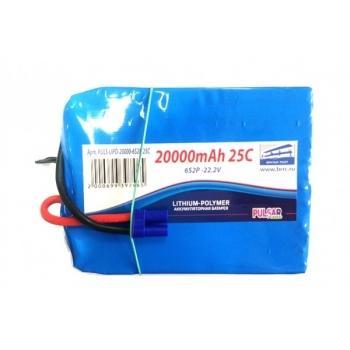 Аккумулятор Pulsar Li-pol 22.2V 20000mAh, 25C, 6s2p, EC5