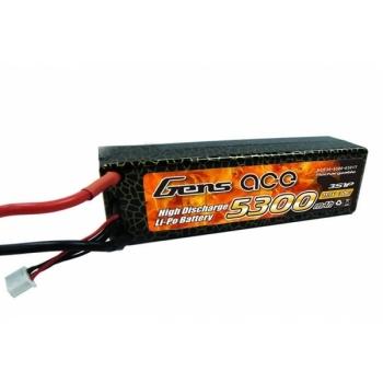Аккумулятор Gens Ace Li-pol 11.1V 5300mAh, 30C, 3s1p, Deans T-Plug