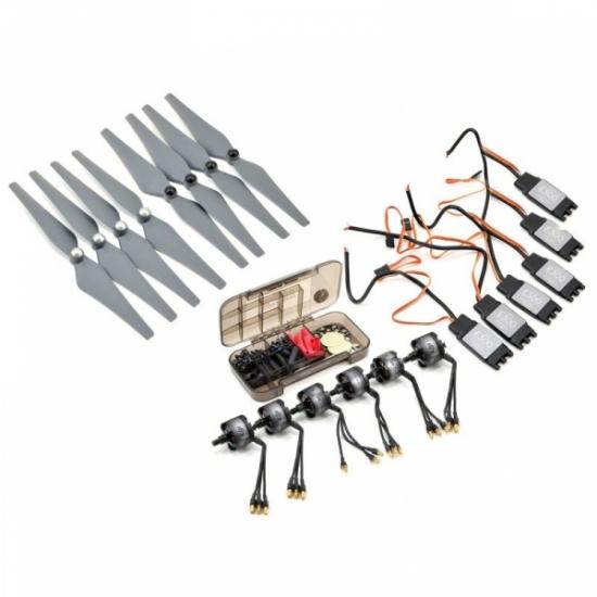 Силовая установка DJI E300 на 6 роторов (моторы, регуляторы, винты)