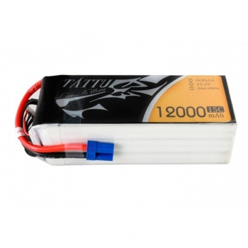 Аккумулятор Gens ACE TATTU Li-pol 22.2V 12000mAh 15C 6S1P - XT150+AS150