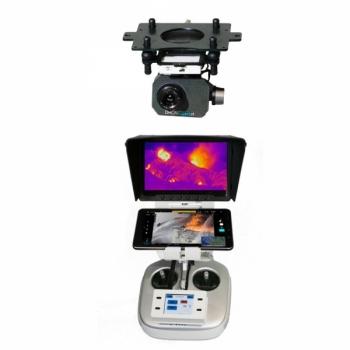 Комплект T08 профессиональный: тепловизионный подвес и камера FLIR TAU2 для DJI Inspire 1